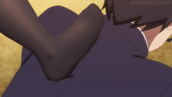 saenai heroine no sodatekata flat kasumigaoka utaha feet stockings black tights pantyhose nylon legs femdom