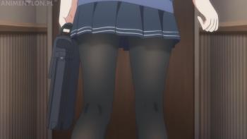 saenai heroine no sodatekata kasumigaoka utaha anime stockings feet pantyhose black tights nylon skirt