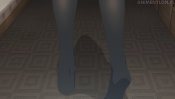 saenai heroine no sodatekata kasumigaoka utaha anime stockings feet pantyhose black tights nylon toes hosiery