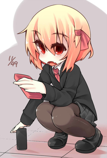 touhou rumia lolicon anime girl pantyhose stockings loli nylon legs manga art