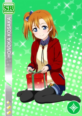 love live school idol project kousaka honoka in stockings black pantyhose anime girl tights nylon legs